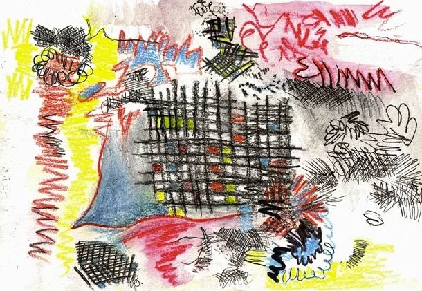 Gail Behrmann Notebook 1, 2003 Mixed media on paper 15 x 21 cm (David Krut)