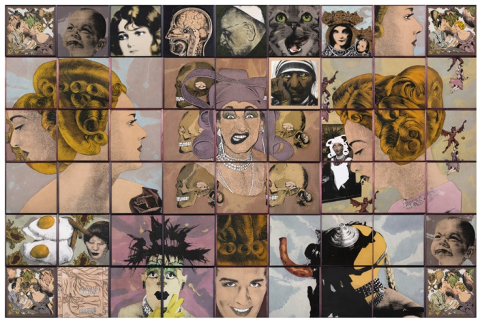 Steven Cohen work auctioned at Russell Kaplan last year